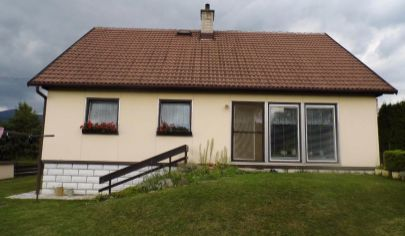 TURANY 4 izbový rodinný dom na poz. 780m2, okr. Martin