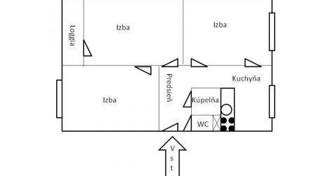 Predaj 3 izbového bytu s loggiou - Západ