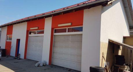 Na predaj v meste Šurany podnikateľský objekt (Areal Servisu + Rodinný dom).