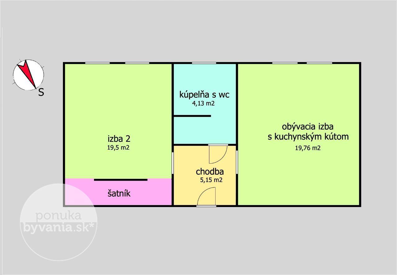 ponukabyvania.sk_Dopravná_2-izbový-byt_BARTA