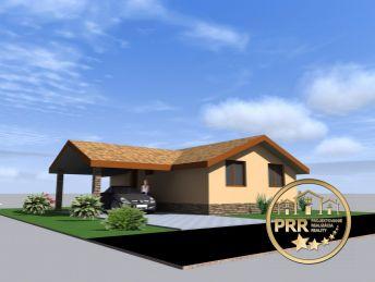 Výstavba 3-izb.prízemného RD - projekt