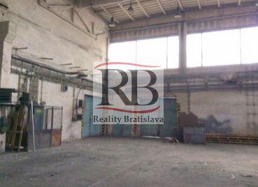 Skladový priestor na prenájom, Závodná, Bratislava II