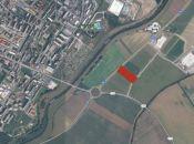 Pozemok v priemyselnom parku v Topoľčanoch.