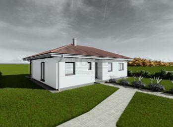 Stavebný pozemok 708 m2, všetky IS v obci Ivanovce