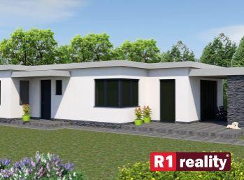 Stavebný pozemok 462 m2, všetky IS v obci Ivanovce