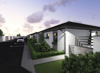 Stavebný pozemok 422 m2, všetky IS v obci Ivanovce