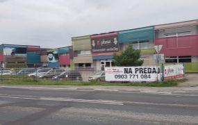 Na predaj lukratívne obchodné priestory nachádzajúce sa na frekventovanej ceste - 2 km od diaľnice D1, obec Veľké Bierovce.