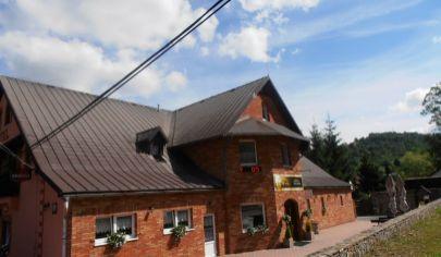 SKALITÉ - hotel s reštauráciou, wellness, pizzeria, bowling na poz. 2070m2, okr. Čadca