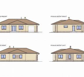 PREDAJ veľkého 5 izbového domu s garážou v Miloslavove