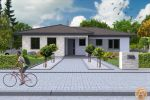 Nízkoenergetický bungalow vysokej kvaliy - NOVOSTAVBA 4-izbových rodinných domov na kľúc v obci POVODA - časť Lidér Tejed!!! Cena 130 000 €