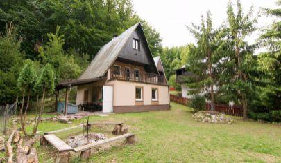 APEX reality ponúka 3 podlažnú chatu v oblasti Sokolské Chaty