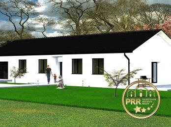 Pečeňany - výstavba 4-izb. RD /110m2/ na pozemku cca 1000m2.