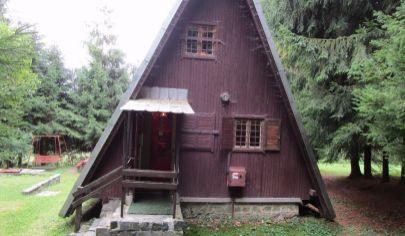 MARTIN zariadená drevená chata na poz.100m2, Stráne