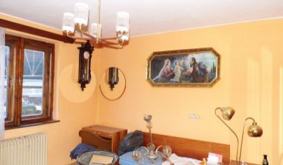 KLÁŠTOR POD ZNIEVOM 5 izb  dom,pozemok 1490m2.okr.Martin