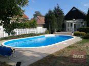 Rod. dom 3 izb. na Orenburskej ul. v P. Biskupiciach s bazénom a garážou