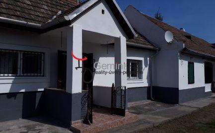 GEMINIBROKER Vám ponúka krásny útulný rodinný dom v obci Cserépfalu