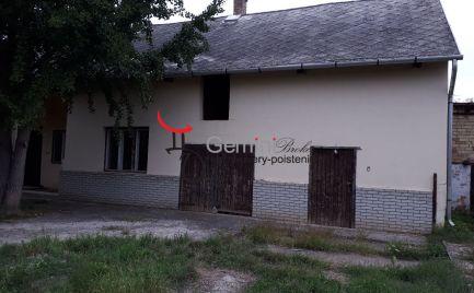 GEMINIBROKER Vám ponúka na predaj veľký rodinný dom s veľkým pozemkom v obci Vizsoly