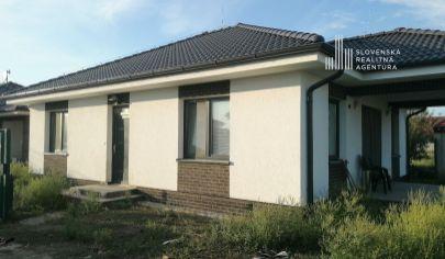 PREDANÉ:  Novostavba rodinného domu v novovybudovanej časti obce Horná Potôň