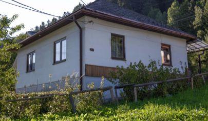 RD s pekným pozemkom (1283 m2) Novoveská Huta