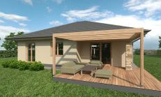 PREDAJ rodinný dom 4 izbový s terasou, Novostavba v Pohranice