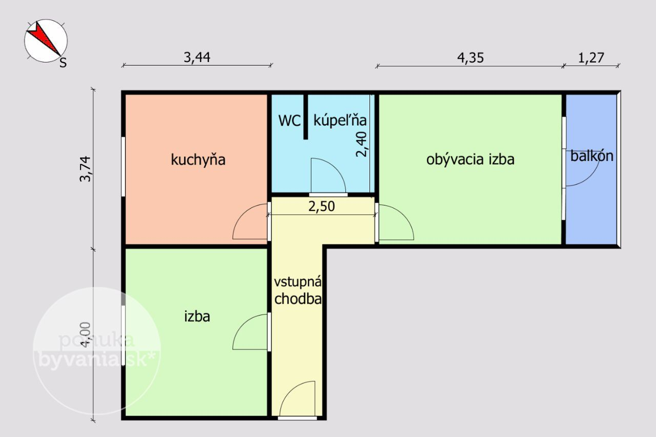 ponukabyvania.sk_Košická_2-izbový-byt_BARTA