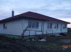 HRUBÁ BORŠA - NA PREDAJ dva 4 izbové rodinné domy v dvojdome - novostavba - Hrubá Borša okr. SENEC