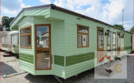 Mobilný dom typ B vhodný na celoročné bývanie, kompletne zariadený 46 m2