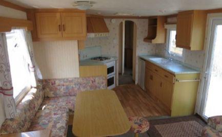 Mobilný dom typ C vhodný na celoročné bývanie kompletne zariadený 36 m2
