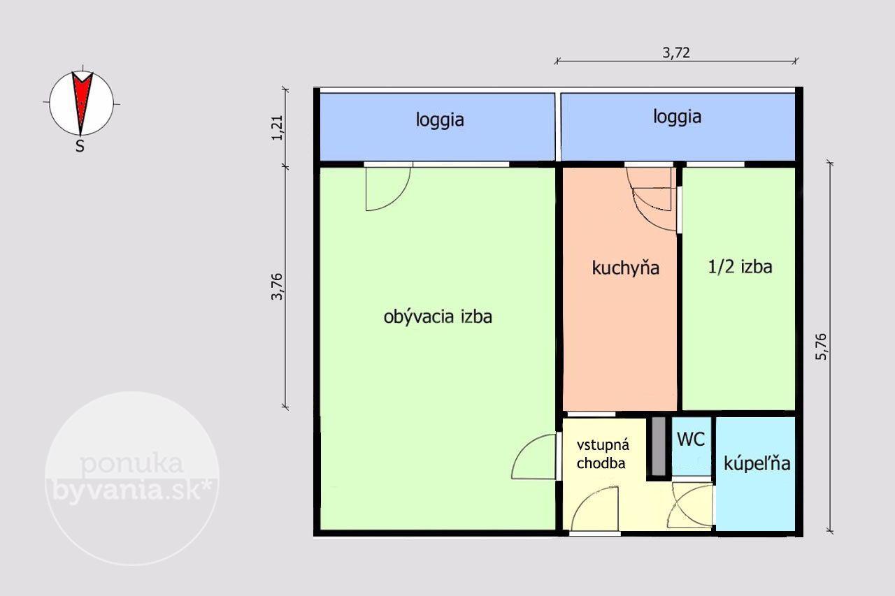 ponukabyvania.sk_Narcisová_2-izbový-byt_KOVÁČ