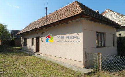 Rodinný dom, Voznica, pozemok 1 441 m2