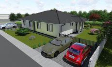 Na predaj novopostavené RD dvojdomy v obci Hubice
