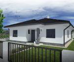 Tehlový bungalov 4+1, novostavba, 551 m2, Trenčianska Turná / Zajarčie