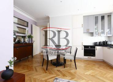 Luxusný byt v centre Bratislavy, na Grosslingovej ulici
