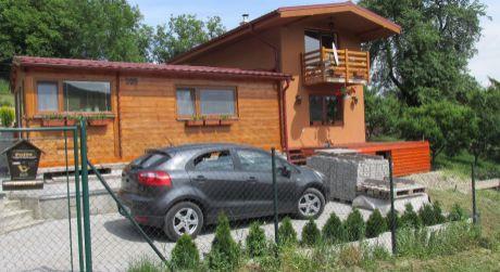 Novostavba pod horou na Orovnici na rekreáciu alebo trvalé bývanie