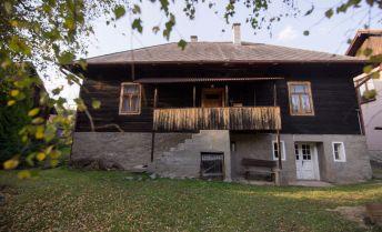 Tradičná Liptovská drevenica na predaj, Nižná Boca