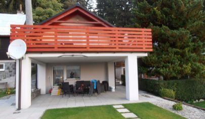 BYSTRIČKA murovaná chatka, novostavba na poz. 580m2, okr. Martin