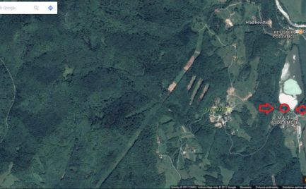 Pozemok na rekreačné účely, Revištské Podzámčie, 7 452 m2
