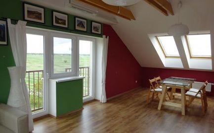 Nádherný 3 izb podkrovný byt v novostavbe v obci Hamuliakovo