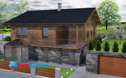 BÁNOVCE nad BEBRAVOU – pozemok o výmere 701 m2 s podpivničenou základovou doskou a projektom / PEKNÝ výhľad na mesto