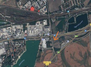 PREDAJ: Pozemok 5318 m2 pre obchod, vyrobné a nevýrobné prevádzky, skladové haly