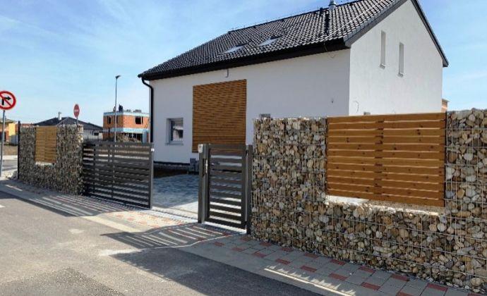 NOVOSTAVBA 5izb. rodinný dom (172 m2), na pozemku 538 m2, s možným odpočtom DPH, nová rezidenčná štvrť - Podunajská brána, BA II.