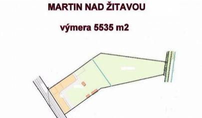 MARTIN NAD ŽITAVOU pozemok 5535 m2, okr. Zlaté Moravce