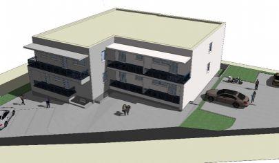 MARTIN Polyfunkčná budova s projektom na prestavbu bytových jednotiek na poz. 1400m2