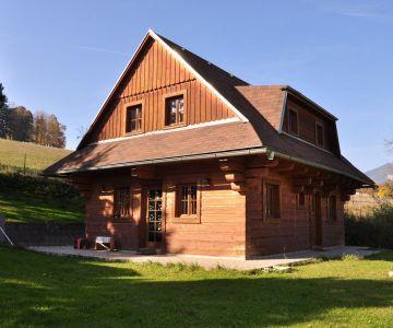 Drevenica, chata, Liptovská Mara, Bobrovník