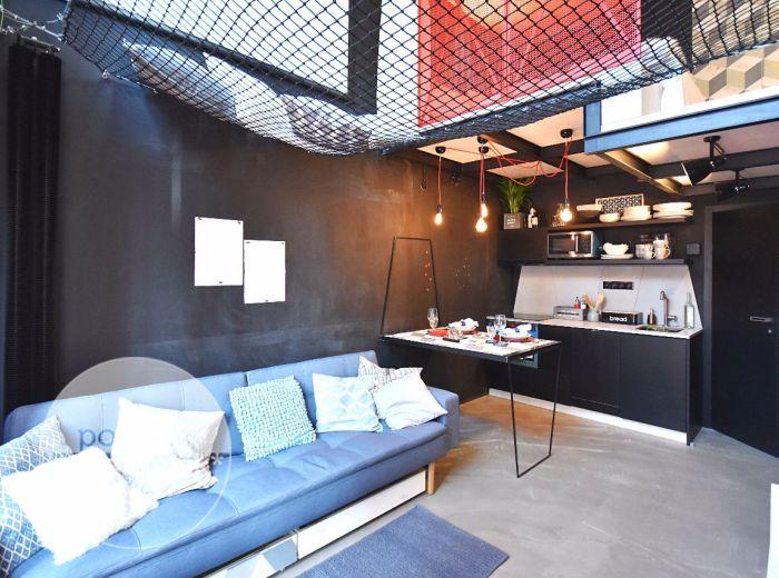 VIDEO - MANHATTAN, 1-i byt, 30 m2 – dvojpodlažný atypický DIZAJNOVÝ byt, zariadený od architektonického štúdia, MOŽNOSŤ ODPOČTU DPH [HTML TEST]
