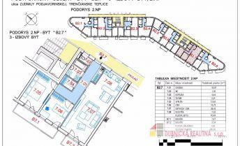Novostavba -  na predaj 3 - izbový byt, vo výmere 86 m2