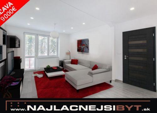 Najlacnejsibyt.sk: BA II - Sklenárova., 3i, 79,76 m2, kompletná luxusná rekonštrukcia 2017