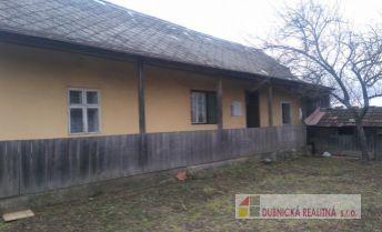 Ponúkame na predaj vikendový dom, pôvodný stav, VlčíVrch.
