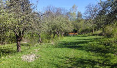 TURANY rekreačný pozemok 5200m2 , okr. Martin