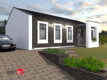 JJ Reality - 4 - izbový rodinný dom s parkovacím státím /Špačince/